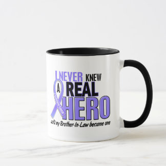 Never Knew A Hero Brother-In-Law Esophageal Cancer Mug