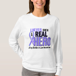 Never Knew A Hero Brother-In-Law Esophageal Cancer T-Shirt