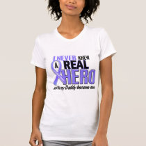 Never Knew A Hero Daddy Esophageal Cancer T-Shirt