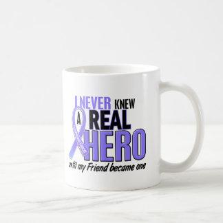 Never Knew A Hero Friend Esophageal Cancer Coffee Mug