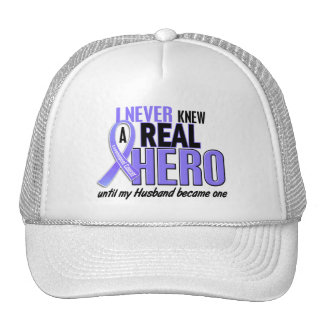 Never Knew A Hero Husband Esophageal Cancer Hats