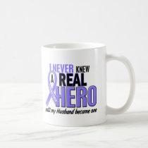 Never Knew A Hero Husband Esophageal Cancer Mug