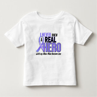 Never Knew A Hero Maw Maw Esophageal Cancer Shirts