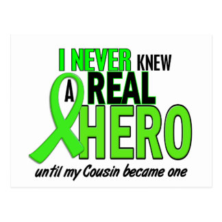 Never Knew A Real Hero 2 LIME (Cousin) Postcard
