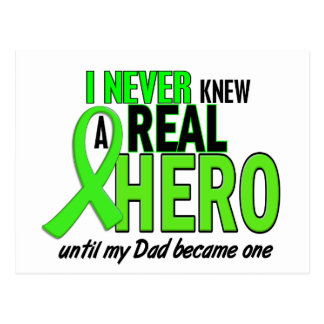 Never Knew A Real Hero 2 LIME (Dad) Postcard