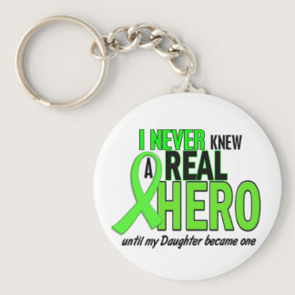 Never Knew A Real Hero 2 LIME (Daughter) Keychain