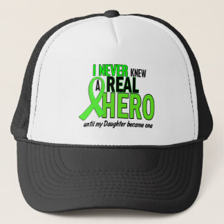 Never Knew A Real Hero 2 LIME (Daughter) Trucker Hat