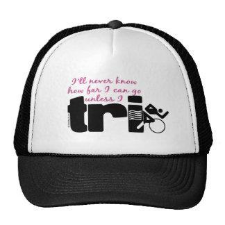 Never Know Unless I TrI - Script Trucker Hat
