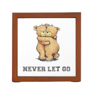 Never Let Go Bear Hug Desk Organizer