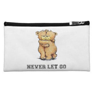 Never Let Go Bear Hug Makeup Bag