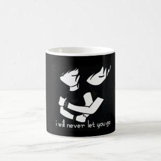 Never Let Go Coffee Mug