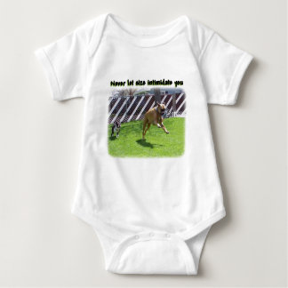 Never Let Size Intimidate Baby Bodysuit