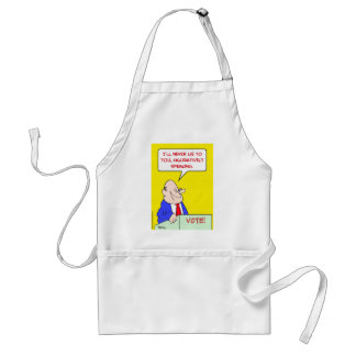 never lie figuratively speaking adult apron