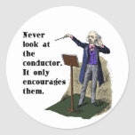 Never Look at the Conductor Sticker