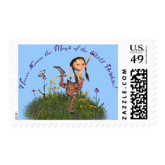 Never Loose the Magic Postage