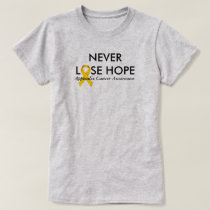 Never Lose Hope Appendix Cancer Awareness T-Shirt
