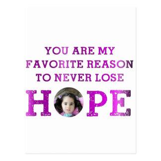 Never Lose Hope - Aubriana Postcard
