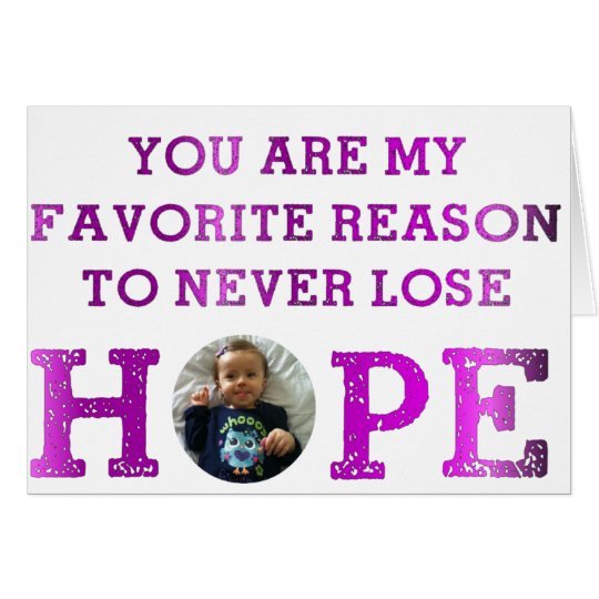 Never Lose Hope - Audrey Card