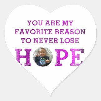 Never Lose Hope - Audrey Sticker