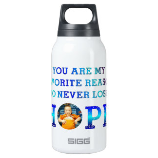 Never Lose Hope - Gavin M Insulated Water Bottle