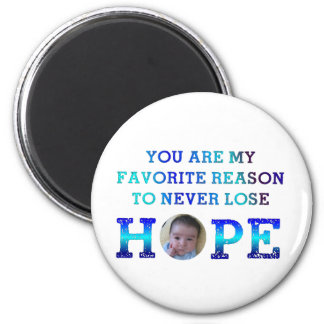 Never Lose Hope - Jay Refrigerator Magnet