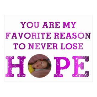 Never Lose Hope - Kaitlyn Postcard