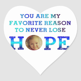 Never Lose Hope - Lucy Sticker