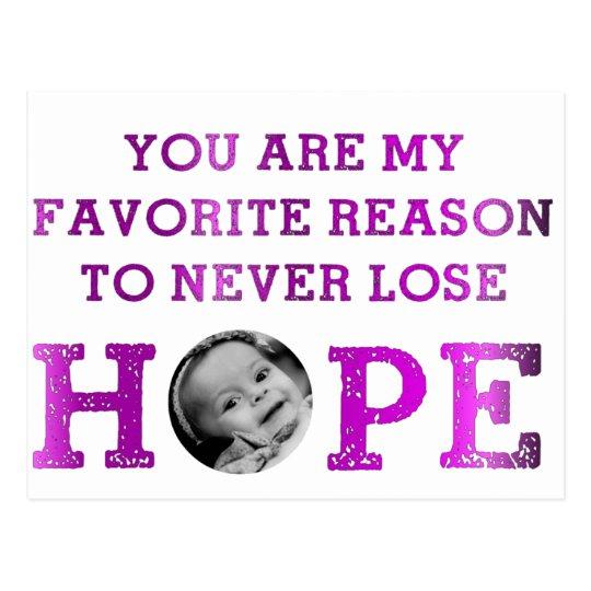 Never Lose Hope - Mckenna Postcard
