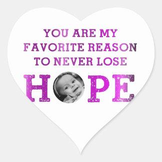 Never Lose Hope - Mckenna Stickers