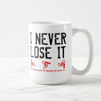 Never Lose It Dirt Bike Motocross Mug Funny