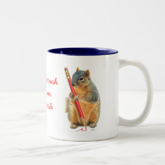 Never Lose Touch With Your Creative Side Two-Tone Coffee Mug