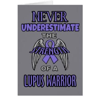 Never...Lupus Warrior Card