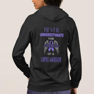 Never...Lupus Warrior Hoodie