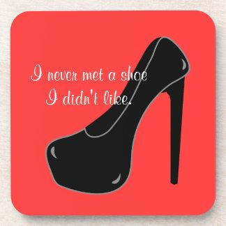 Never met a Shoe Coaster