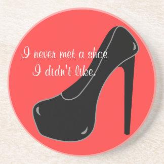 Never met a Shoe Drink Coaster