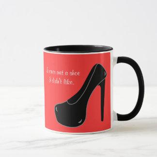 Never met a Shoe Mug