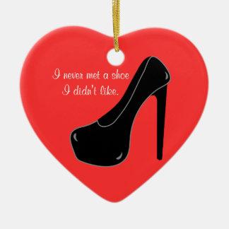Never met a Shoe Ornament