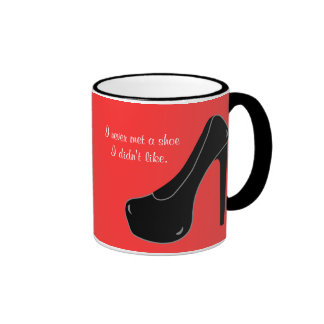 Never met a Shoe Ringer Coffee Mug