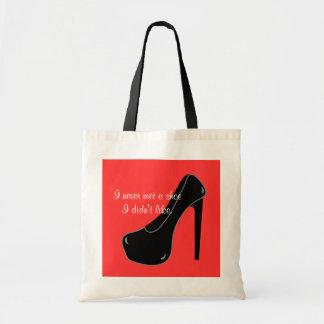 Never met a Shoe Tote Bag