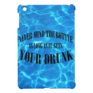 Never mind the bottle... case for the iPad mini