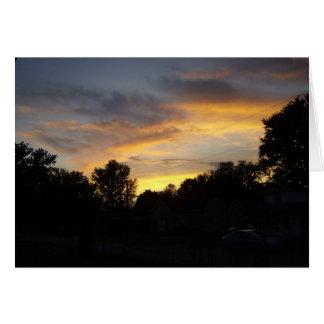 Never Miss Kentucky Sunsets Card