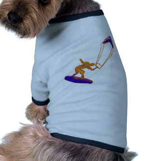 Never Missed Kiteboard Doggie T Shirt