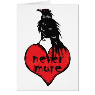 Never More Raven Card