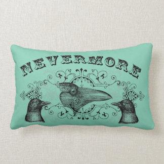 Never More Raven Crow Lumbar Pillow