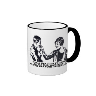 Never Pick Your Friend's Nose Ringer Mug