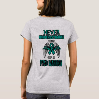 Never...PTSD Warrior T-Shirt