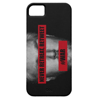 Never Retreat Retweet Case Cover For iPhone 5/5S