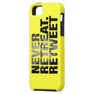 Never Retreat Retweet Case - Breitbart Edition Cover For iPhone 5/5S
