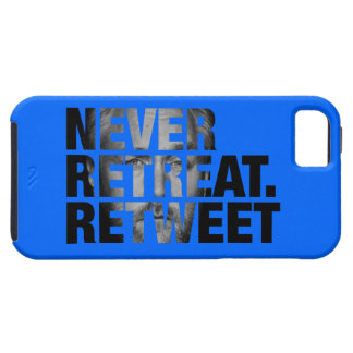 Never Retreat Retweet Case - Breitbart Edition iPhone 5/5S Cover