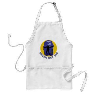Never Say Die Funny Zombie T-shirts, Party Favors Adult Apron